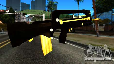 New Machine para GTA San Andreas segunda pantalla