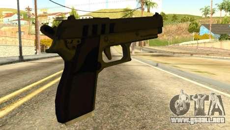 Pistol from GTA 5 para GTA San Andreas segunda pantalla