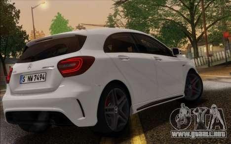 Mercedes-Benz A45 AMG para visión interna GTA San Andreas