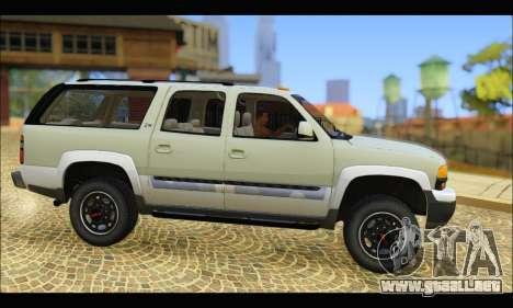 GMC Yukon XL 2003 v.2 para GTA San Andreas left
