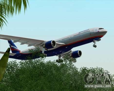 Airbus A330-300 Aeroflot - Russian Airlines para vista lateral GTA San Andreas