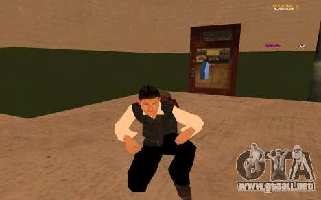 Nueva animación por Ozlonshok para GTA San Andreas segunda pantalla
