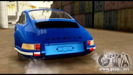 Porsche 911 Carrera 2.7RS Coupe 1973 Tunable para el motor de GTA San Andreas
