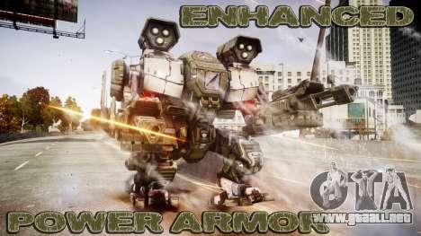 Enhanced Power Armor para GTA 4
