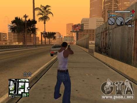 C-HUD Universal v3 para GTA San Andreas sexta pantalla