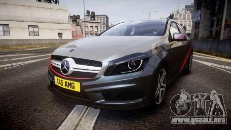 Mersedes-Benz A45 AMG PJs2 para GTA 4