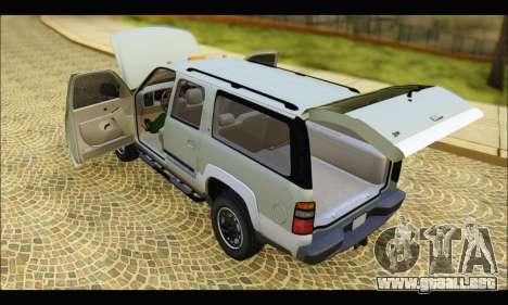 GMC Yukon XL 2003 v.2 para la visión correcta GTA San Andreas