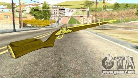 Rifle from GTA 5 para GTA San Andreas segunda pantalla