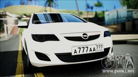 Opel Astra para GTA San Andreas