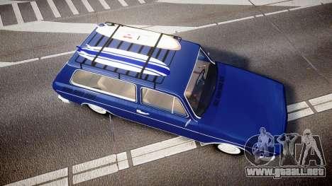 Volkswagen 1600 Variant 1973 para GTA 4 visión correcta