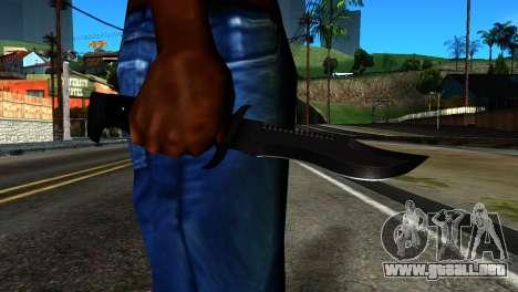 New Knife para GTA San Andreas tercera pantalla
