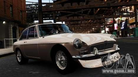 MGB GT 1965 para GTA 4