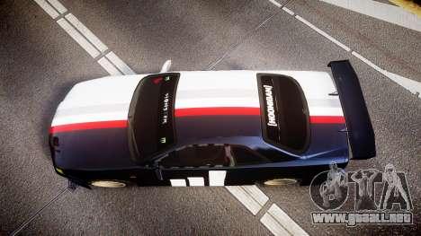 Nissan Skyline R34 GT-R Drift para GTA 4 visión correcta