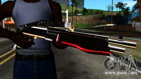 New Combat Shotgun para GTA San Andreas tercera pantalla