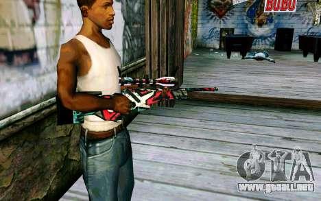 AWP L96A1 (Looney) para GTA San Andreas segunda pantalla