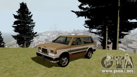 Nuevo transporte y compra para GTA San Andreas octavo de pantalla