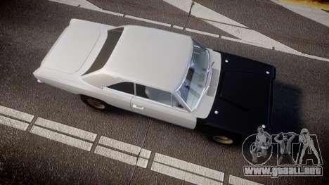 Dodge Dart HEMI Super Stock 1968 rims1 para GTA 4 visión correcta