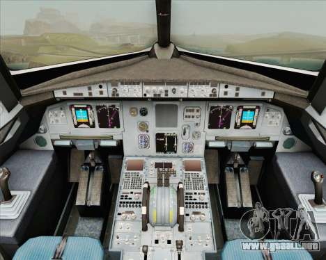 Airbus A320-200 Air New Zealand para GTA San Andreas interior