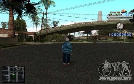 C-HUD SWAG Killerz para GTA San Andreas segunda pantalla