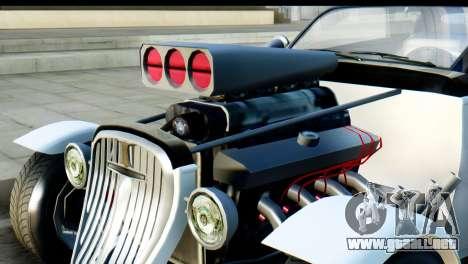 GTA 5 Hotknife para GTA San Andreas vista posterior izquierda