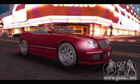 Enus Cognoscenti Cabrio (GTA V) para GTA San Andreas left