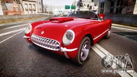 Chevrolet Corvette C1 1953 race para GTA 4