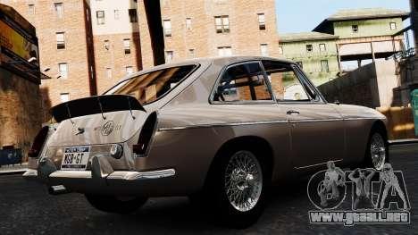 MGB GT 1965 para GTA 4 left
