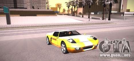 ENB by NIKE para GTA San Andreas quinta pantalla