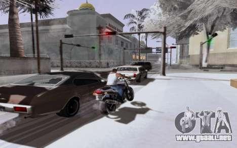 Nuevo ENB Series para GTA San Andreas quinta pantalla