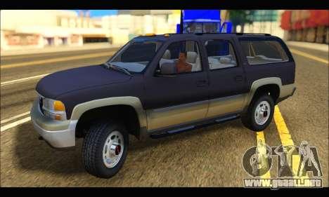 GMC Yukon XL 2003 para GTA San Andreas left