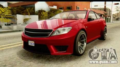 GTA 5 Benefactor Schwartzer para GTA San Andreas
