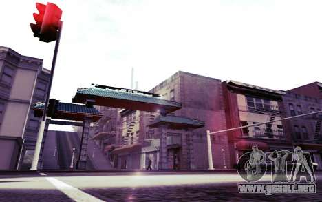 Instagram ENB v1.02 para GTA San Andreas undécima de pantalla