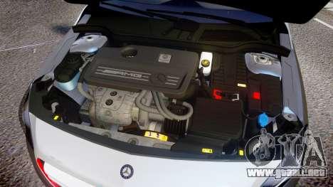 Mersedes-Benz A45 AMG PJs2 para GTA 4 vista interior