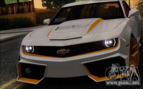 Chevrolet Camaro VR (IVF) para GTA San Andreas left