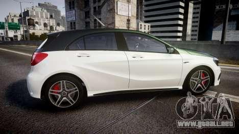 Mersedes-Benz A45 AMG PJs3 para GTA 4 left