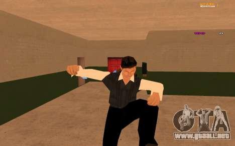 Nueva animación por Ozlonshok para GTA San Andreas sucesivamente de pantalla