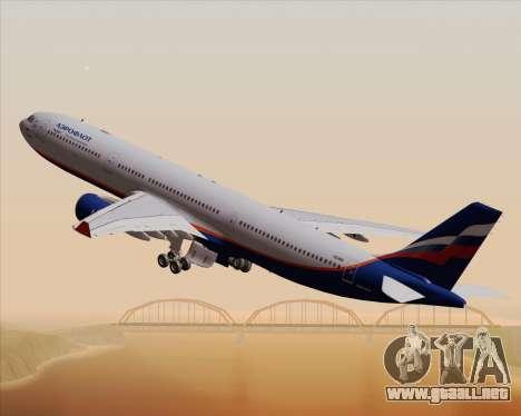 Airbus A330-300 Aeroflot - Russian Airlines para la vista superior GTA San Andreas