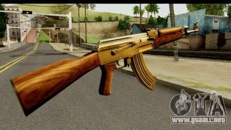 New AK47 para GTA San Andreas segunda pantalla