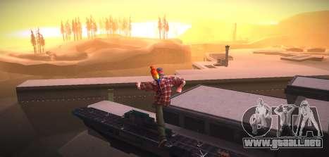 ENB by NIKE para GTA San Andreas sucesivamente de pantalla