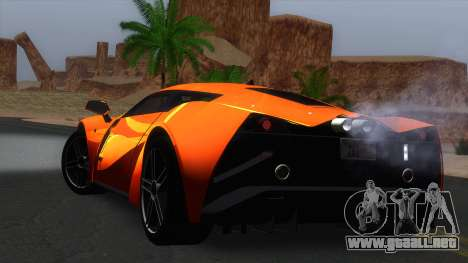ENB Real for very low PC para GTA San Andreas novena de pantalla