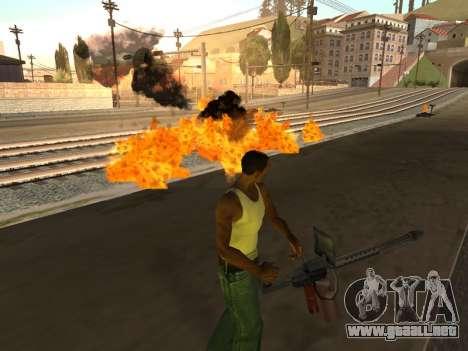 Effects by Lopes 2.2 New para GTA San Andreas segunda pantalla