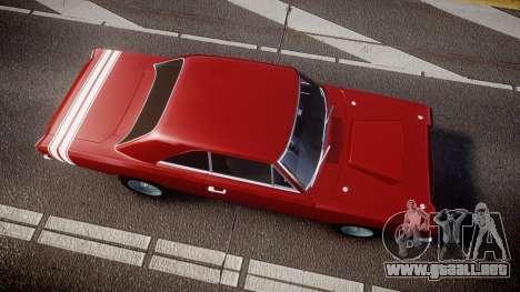 Dodge Dart HEMI Super Stock 1968 rims2 para GTA 4 visión correcta