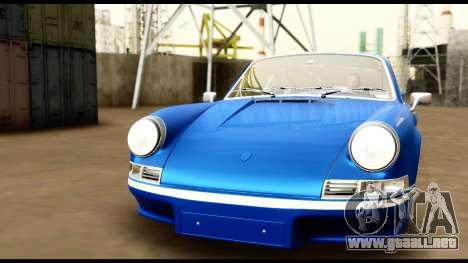 Porsche 911 Carrera 2.7RS Coupe 1973 Tunable para vista inferior GTA San Andreas