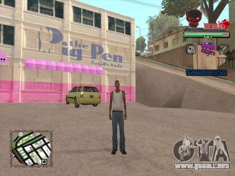 C-HUD by VinC para GTA San Andreas tercera pantalla