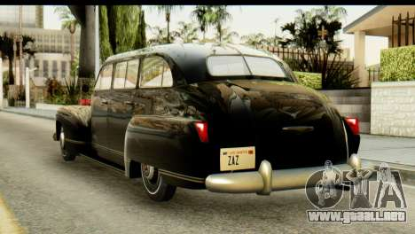 Lassiter Series 75 Hollywood para GTA San Andreas left