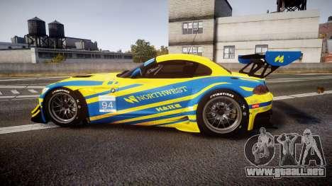 BMW Z4 GT3 2012 Northwest para GTA 4 left