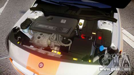 Mersedes-Benz A45 AMG PJs3 para GTA 4 vista interior