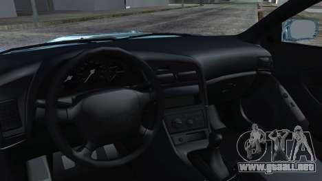 Toyota Сelica para la visión correcta GTA San Andreas