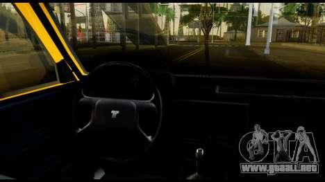 Tofas Sahin para GTA San Andreas vista hacia atrás