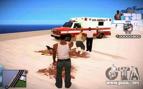 HUD 3D para GTA San Andreas tercera pantalla